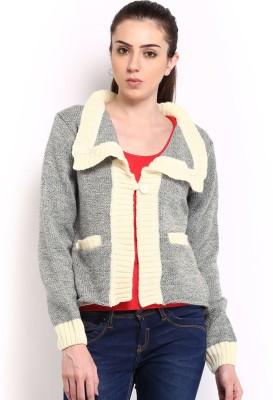 HRX by Hrithik Roshan Premium Women's Button Woven Cardigan