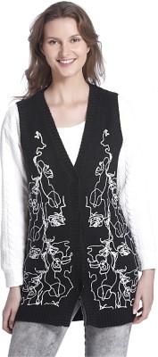 Vero Moda Womens Button Embroidered Cardigan