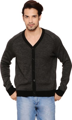 Northern Lights Men's Button Solid Cardigan