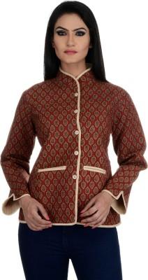 Aarohee Women's Button Paisley Cardigan
