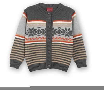 Lilliput Baby Girls Button Striped Cardigan