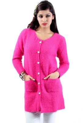 Envy Premium Women's Button Self Design Cardigan