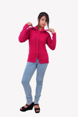 popkins Women's Button Cardigan