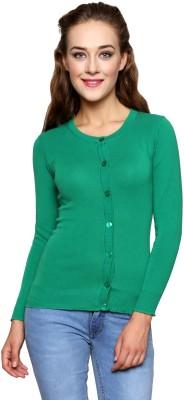 Renka Womens Button Solid Cardigan