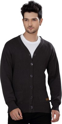 Stephen Armor Men's Button Solid Cardigan