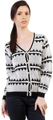Pazaro Women,s Button Woven Cardigan