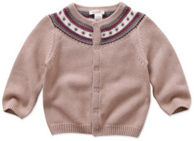 Dave & Bella Baby Girl's Button Cardigan