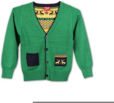 Lilliput Boys Button Solid Cardigan