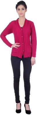 WELNA Women's Button Cardigan