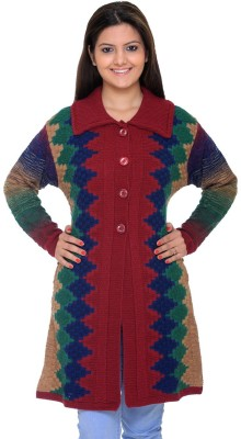 Woolpark Women's Button Cardigan