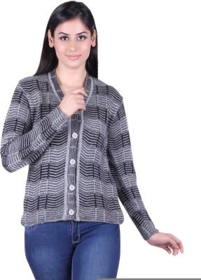 Pazaro Women's Button Solid Cardigan