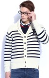 Harvard Men's Button Striped Cardigan