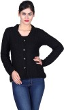 Sellsy Women's Button Solid, Self Design...