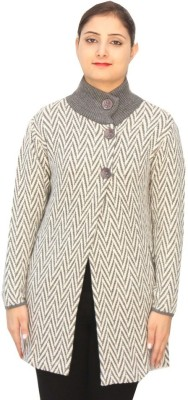 Romano Womens Button Solid Cardigan