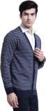 Ebry Men's Button Striped Cardigan
