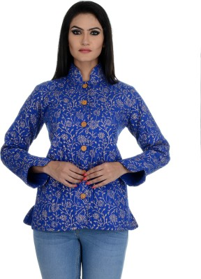 Aarohee Women's Button Printed Cardigan