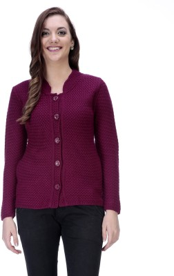 90 West Women's Button Solid Cardigan
