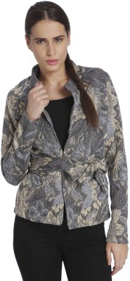 Vero Moda Womens Button Self Design Cardigan