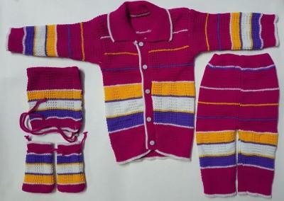 Muskan Baby Boy's Button Cardigan