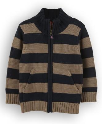 Lilliput Baby Boy's Zipper Striped Cardigan