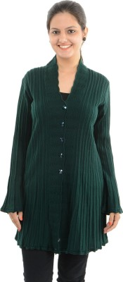 Apsley Women's Button Solid Cardigan