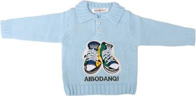 Offspring Baby Boy's Button Applique Cardigan