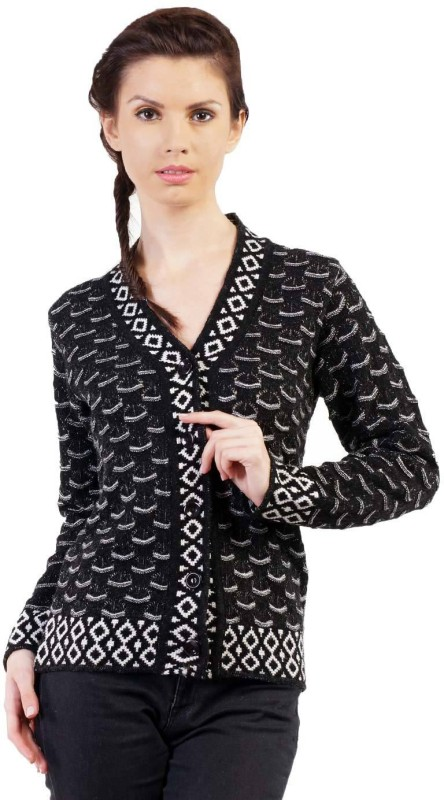 Pazaro Women's Button Woven Cardigan
