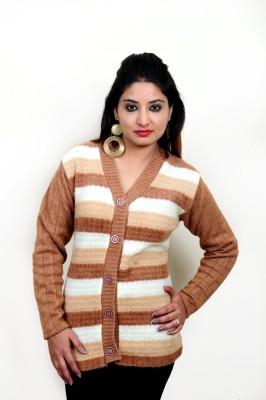 Laadli Ji Women's Button Self Design Cardigan