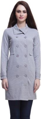 Femella Women's Button Solid Cardigan