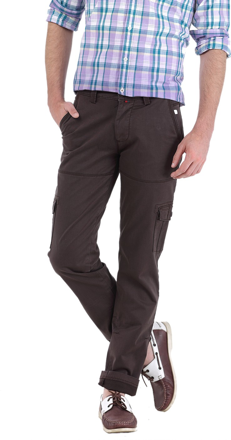 Basics Smart Men's Cargos - Formal Wear