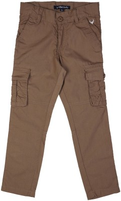 Allen Solly Regular Fit Boy,s Brown Trousers