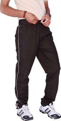 Mountain Colours Self Design Men's Brown Track Pants