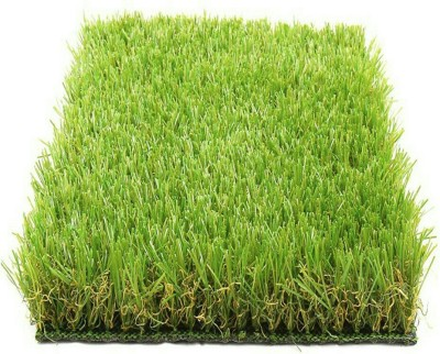 adb Plastic Floor Mat Artificial Grass Floor Mat(Green, Medium) at flipkart