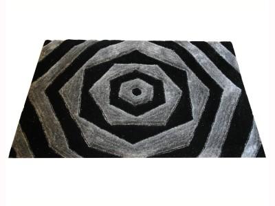 Majesty Black Polyester Carpet