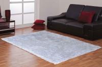 Avira Home White Cotton Carpet(213 cm  X 152 cm)
