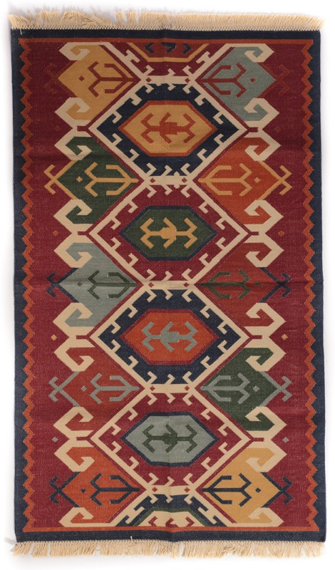 Carpet Overseas Multicolor Cotton Area Rug(92 cm  X 153 cm)