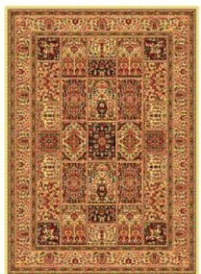 Apsara Gold, Beige Silk Carpet
