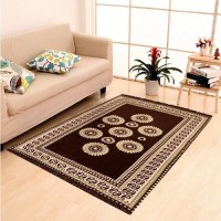 p.s decor Brown Chenille Carpet