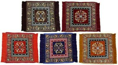 SHREE KHATU PRINTS Multicolor Jute Carpet