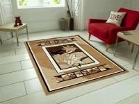 GARIMA 3 STAR Beige Polypropylene Carpet(150 cm  X 200 cm)