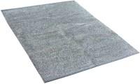 Loomkart Silver Polyester Carpet(150 cm  X 90 cm)