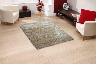 Sawariya Decor Brown Polyester Carpet