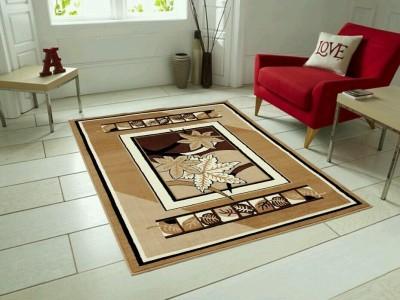 SHREE KHATU PRINTS Maroon Polypropylene Carpet