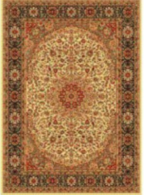 Apsara Gold Silk Carpet