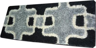 Skytex Multicolor Cotton Polyester Blend Area Rug
