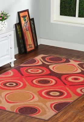 Status Red Nylon Carpet(91 cm  X 152 cm)