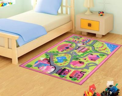 Status Pink Nylon Carpet(91 cm  X 152 cm)