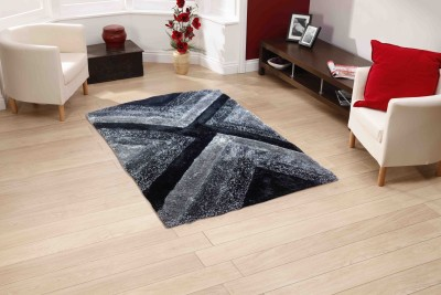 Sawariya Decor Multicolor Polyester Carpet