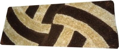 SKYTEX Black Cotton Polyester Blend Runner