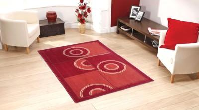 Status Red Nylon Carpet(152 cm  X 213 cm)